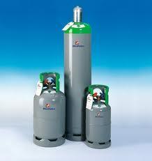 Kältemittel recycling flasche